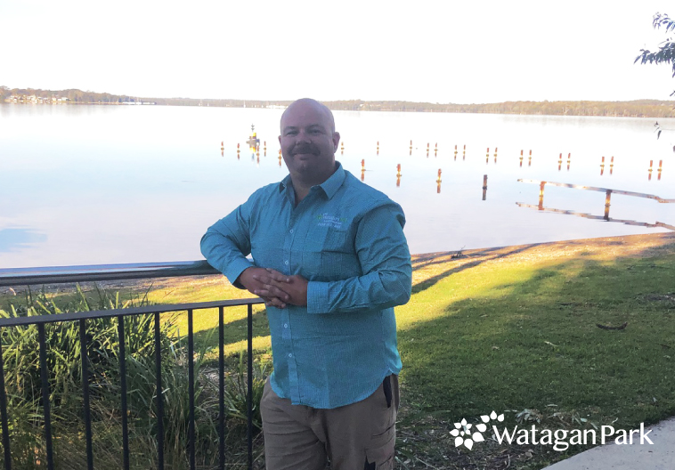 Russell Pearse of Watagan Park Landscaping